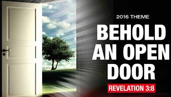 Behold Open Doors - Theme 2016