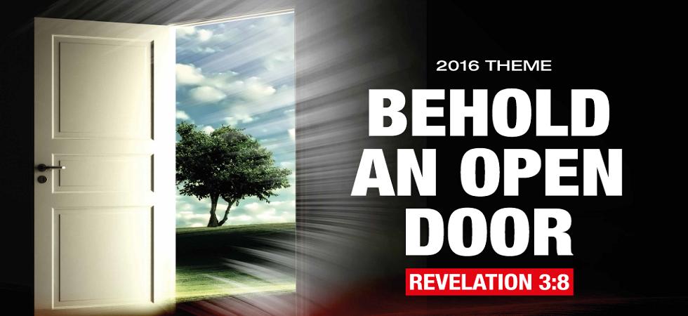 Citam 2016theme - Behold an Open Door